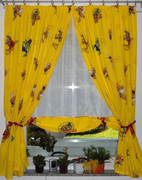 Biene Maja Kinderzimmer gardinenmanufaktur - kinderzimmer gardinen
